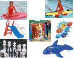 Wasserspielzeug und kleine Spielgeräte