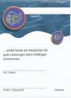 Fisch- Urkunde