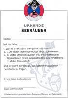 Seeräuber- Urkunde