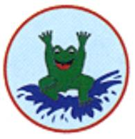 Frosch- Abzeichen