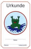 Frosch- Urkunde