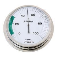 Sauna-Hygrometer 130 mm mit Flansch
