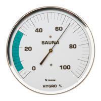 Sauna-Hygrometer 160 mm ohne Flansch