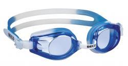 Schwimmbrille Professional Rimini für Jugendliche -VPE 12 Stück weiß-blau (16)