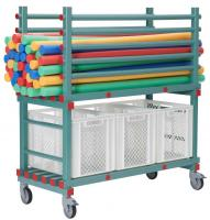 Pool Noodle-Material Wagen