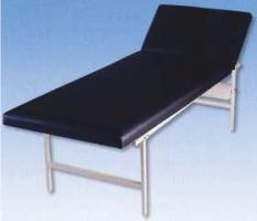 Ruheraumliege, Stahlrohrrahmen, Kopf- und Fußteil verstellbar