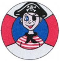 Seeräuber- Abzeichen
