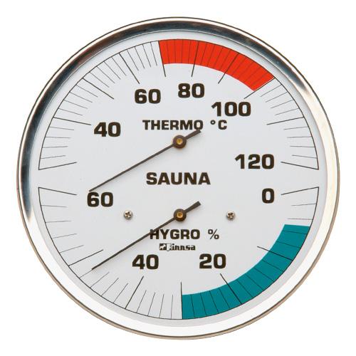 Sauna-Hygrotherm 160 mm ohne Flansch