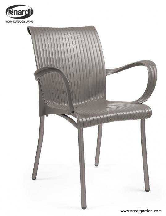 Stuhl Dama Farbe tortora