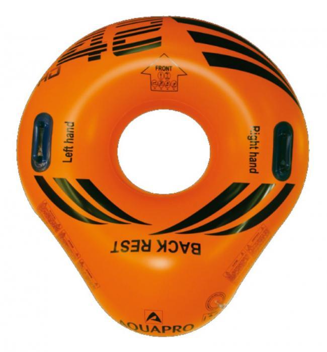 "Aquapro B Reifen ""Heavy Duty"" für 1 Person, Maße: 119 x 107 cm - VPE 6 Stück"