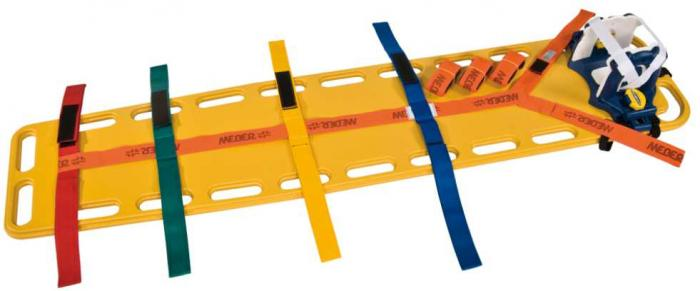 Spine Board S inkl. 3 Gurte