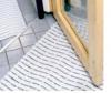 "Bodenbelag ""durowalk"", Breite: 60 cm grau gesprenkelt"